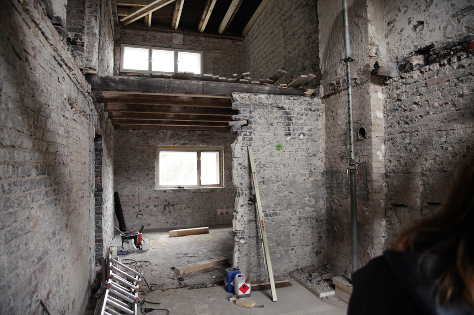 Siedlung Neu Jerusalem Umbau